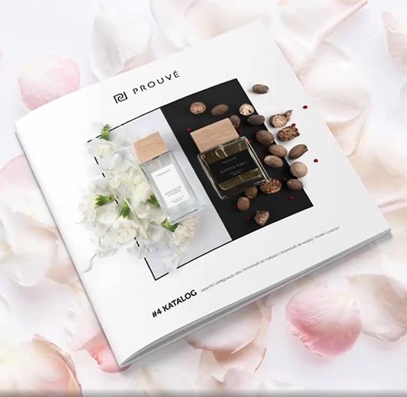 catalogo Prouvé de cosmética, perfumes, franceses