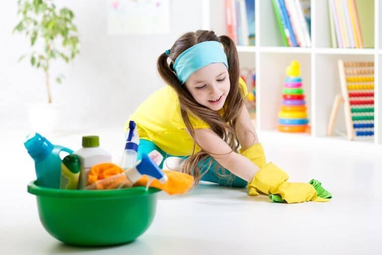 tóxicos en productos de limpieza para el hogar